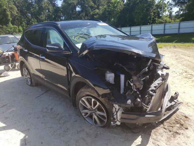 Salvage cars for sale from Copart Ocala, FL: 2014 Hyundai Santa FE S