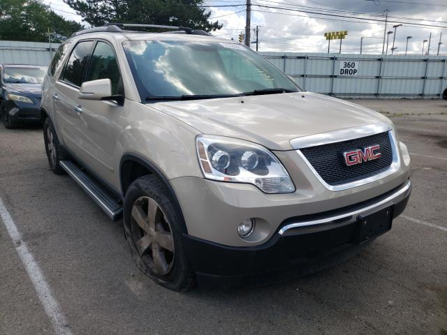 Salvage cars for sale from Copart Moraine, OH: 2010 GMC Acadia SLT