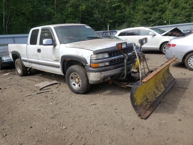 Salvage cars for sale from Copart Lyman, ME: 1999 Chevrolet Silverado