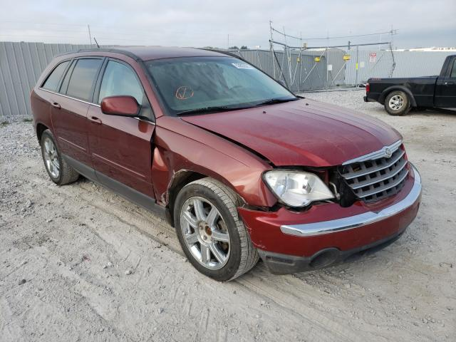 Salvage cars for sale from Copart Greenwood, NE: 2007 Chrysler Pacifica T