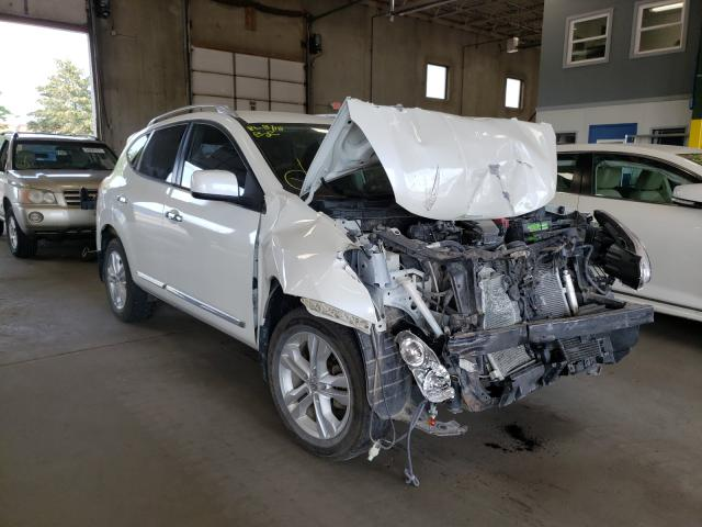 Salvage cars for sale from Copart Blaine, MN: 2012 Nissan Rogue SV