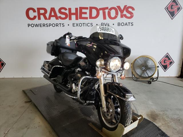 Salvage cars for sale from Copart Sikeston, MO: 2008 Harley-Davidson Flht Class