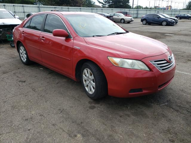 Salvage cars for sale from Copart Moraine, OH: 2009 Toyota Camry Hybrid