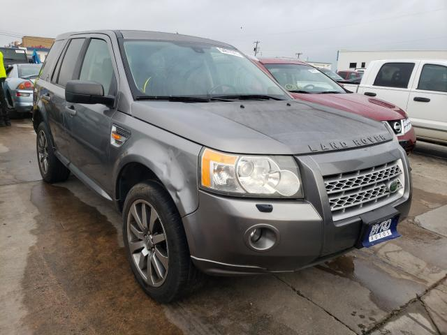 Salvage cars for sale from Copart Grand Prairie, TX: 2008 Land Rover LR2 HSE TE
