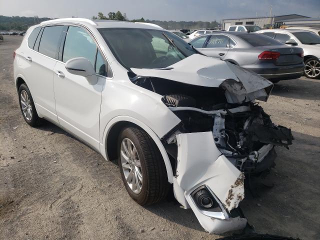 Salvage cars for sale from Copart Alorton, IL: 2019 Buick Envision E
