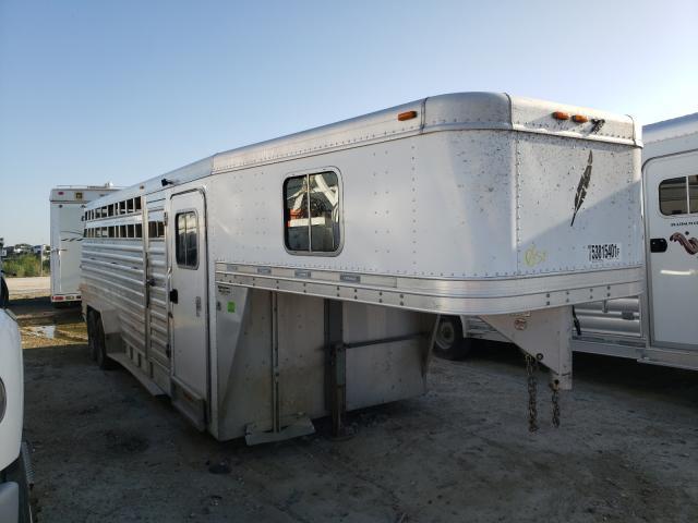 Featherlite Mfg Inc salvage cars for sale: 2010 Featherlite Mfg Inc Horse Trailer