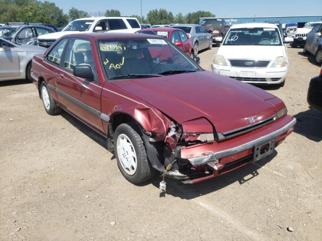 Salvage cars for sale from Copart Des Moines, IA: 1989 Honda Accord LXI