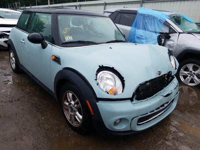 Salvage cars for sale at Billerica, MA auction: 2012 Mini Cooper