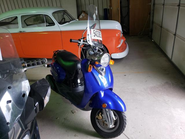 Salvage cars for sale from Copart York Haven, PA: 2008 Yamaha YJ125
