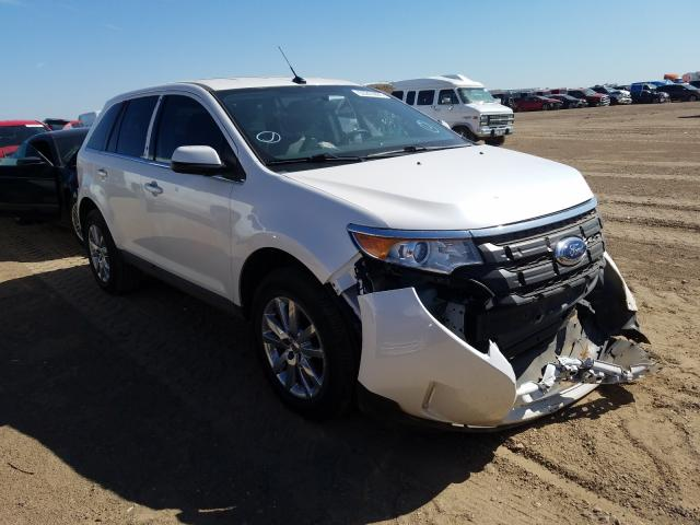 Salvage cars for sale from Copart Amarillo, TX: 2014 Ford Edge Limited