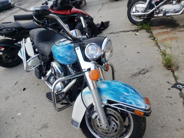 Salvage cars for sale from Copart Woodhaven, MI: 2005 Harley-Davidson Flhpi