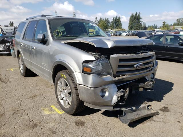 Salvage cars for sale from Copart Woodburn, OR: 2008 Ford Expedition