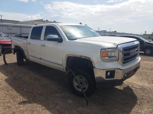Salvage cars for sale from Copart Mercedes, TX: 2014 GMC Sierra C15