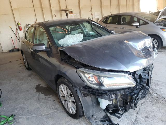 Salvage cars for sale from Copart Madisonville, TN: 2013 Honda Accord EXL