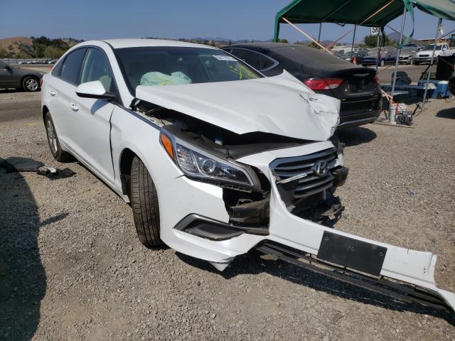 Salvage cars for sale from Copart San Martin, CA: 2016 Hyundai Sonata SE