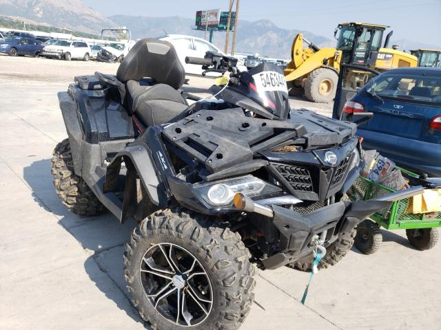 Salvage cars for sale from Copart Farr West, UT: 2019 Can-Am Cforce 800