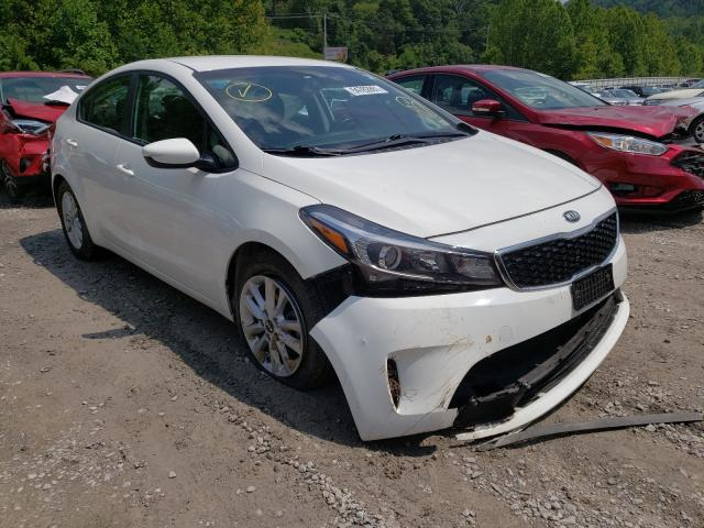 KIA Forte salvage cars for sale: 2017 KIA Forte