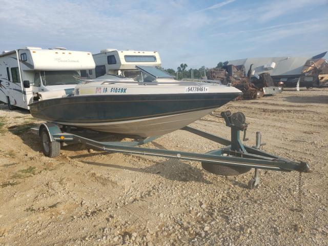 Salvage boats for sale at Columbia, MO auction: 1992 Crownline Boat Trlr