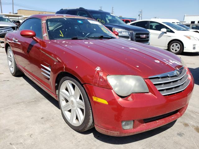 Chrysler Crossfire salvage cars for sale: 2005 Chrysler Crossfire