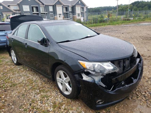 Salvage cars for sale from Copart Madison, WI: 2012 Toyota Camry Base