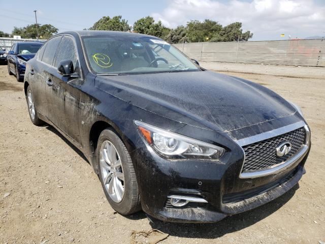 Infiniti salvage cars for sale: 2015 Infiniti Q50 Base