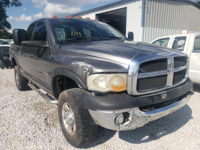 Salvage trucks for sale at Rogersville, MO auction: 2005 Dodge RAM 2500 S