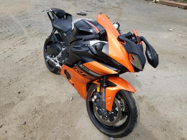 Salvage cars for sale from Copart Waldorf, MD: 2020 Yamaha YZFR6