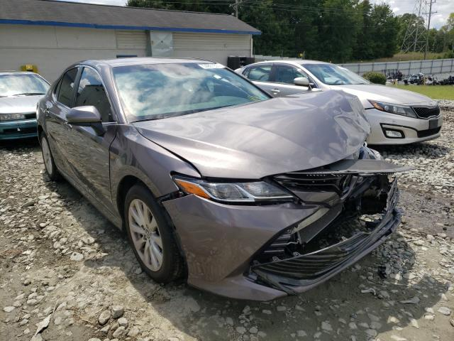 Salvage cars for sale from Copart Mebane, NC: 2018 Toyota Camry L
