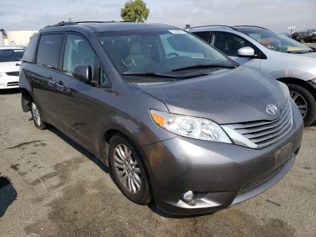 Vehiculos salvage en venta de Copart Martinez, CA: 2016 Toyota Sienna XLE