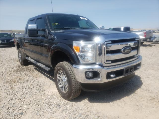Salvage trucks for sale at Magna, UT auction: 2013 Ford F350 Super