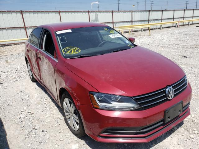 Salvage cars for sale from Copart Haslet, TX: 2017 Volkswagen Jetta S