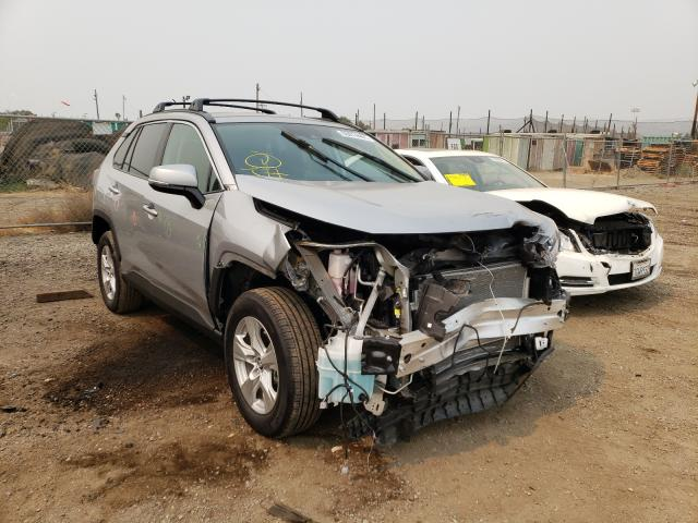 Salvage cars for sale from Copart San Martin, CA: 2021 Toyota Rav4 XLE