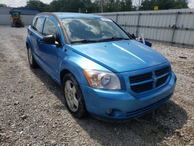 Salvage cars for sale from Copart Walton, KY: 2008 Dodge Caliber SX
