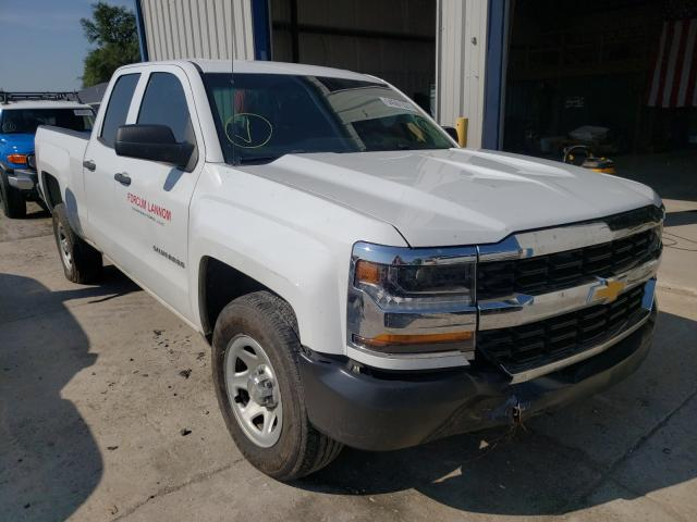 Salvage trucks for sale at Sikeston, MO auction: 2016 Chevrolet Silverado