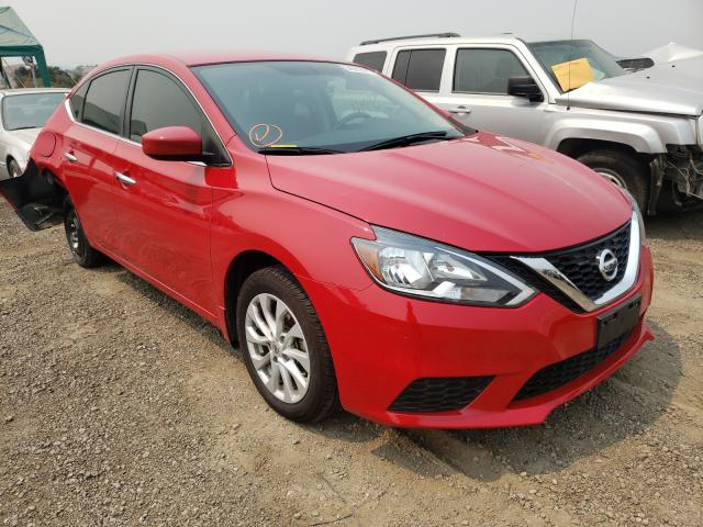 Salvage cars for sale from Copart San Martin, CA: 2018 Nissan Sentra S