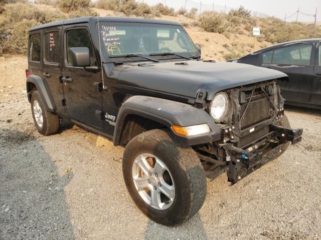 Jeep salvage cars for sale: 2018 Jeep Wrangler U