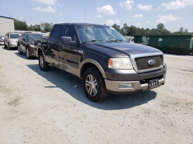 Salvage cars for sale from Copart Spartanburg, SC: 2005 Ford F150 Super