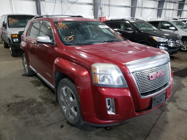 Salvage cars for sale from Copart Ham Lake, MN: 2013 GMC Terrain DE