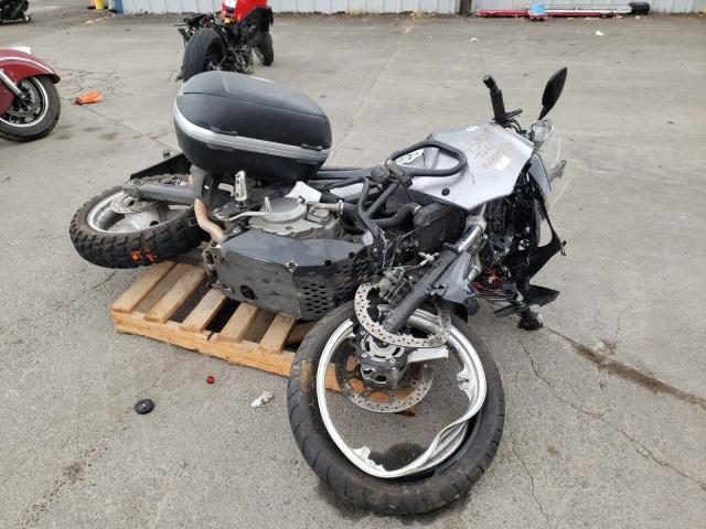 Salvage motorcycles for sale at Portland, OR auction: 2009 Suzuki DL650