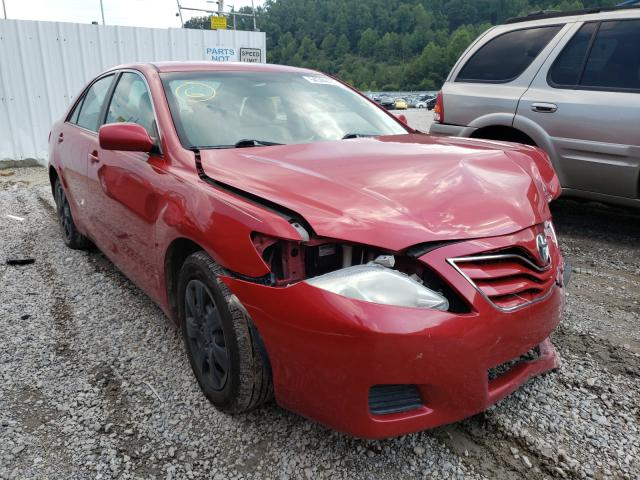 Salvage cars for sale at Hurricane, WV auction: 2010 Toyota Camry Base