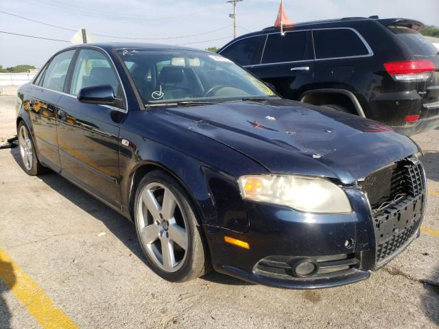 Salvage cars for sale from Copart Chicago Heights, IL: 2007 Audi A4 S-Line