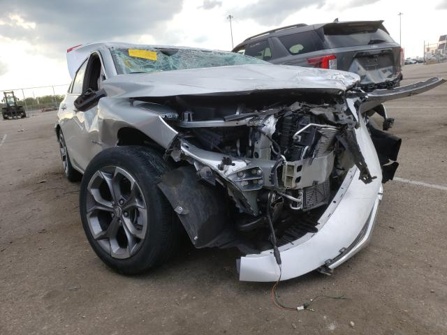 Salvage cars for sale from Copart Moraine, OH: 2021 Chevrolet Malibu LT