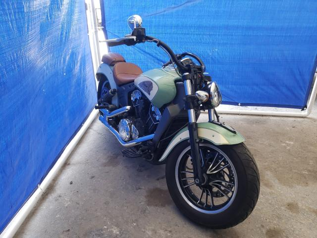 Salvage cars for sale from Copart Punta Gorda, FL: 2018 Indian Motorcycle Co. Scout ABS