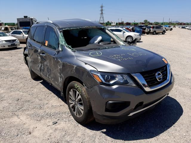 Salvage cars for sale from Copart Tucson, AZ: 2018 Nissan Pathfinder