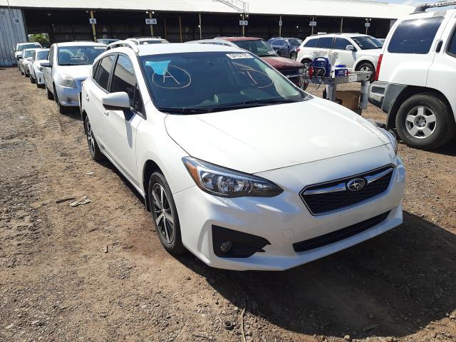 Subaru salvage cars for sale: 2019 Subaru Impreza PR