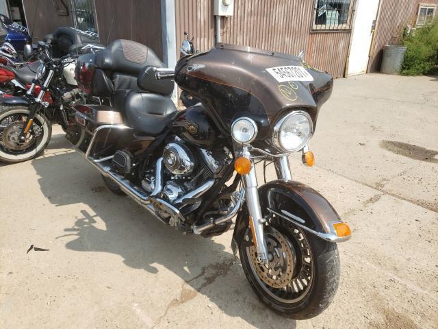 Salvage cars for sale from Copart Billings, MT: 2013 Harley-Davidson Flhtk Elec