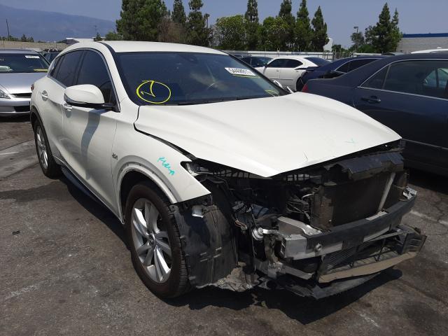 Infiniti salvage cars for sale: 2017 Infiniti QX30 Base
