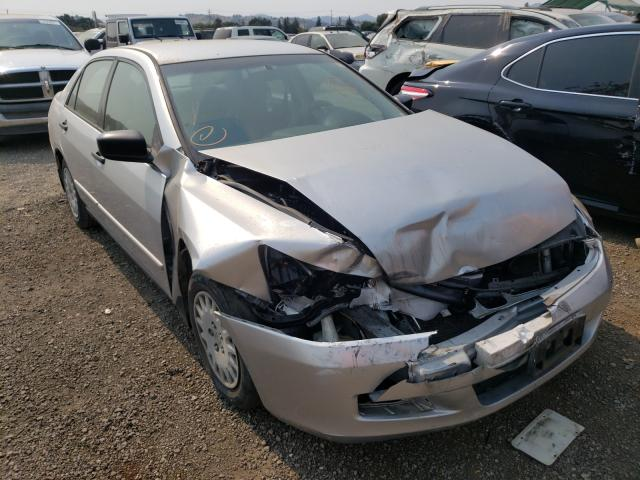 Salvage cars for sale from Copart San Martin, CA: 2007 Honda Accord VAL