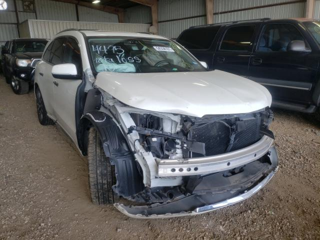 Salvage cars for sale from Copart Houston, TX: 2019 Acura MDX Advance