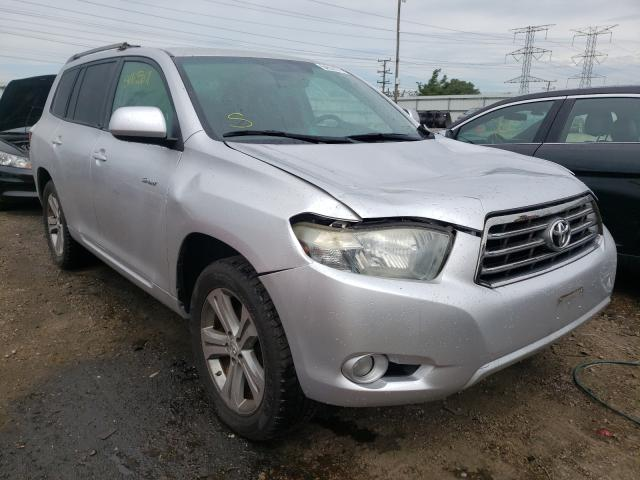 Salvage cars for sale at Elgin, IL auction: 2009 Toyota Highlander
